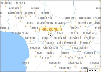 map of Faneroméni