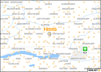 map of Faning