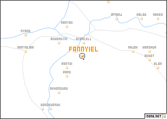 map of Fan Nyiel