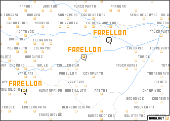 map of Farellón