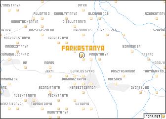 map of Farkastanya