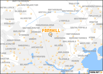 map of Farm Hill