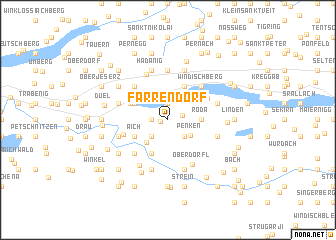 map of Farrendorf