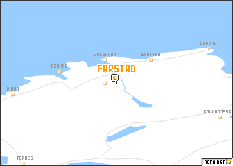 map of Farstad
