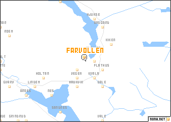 map of Farvollen