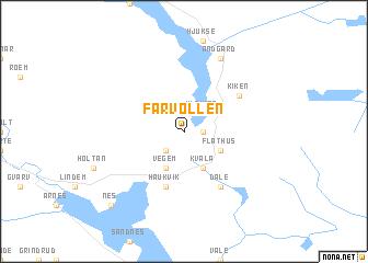 map of Farvollen