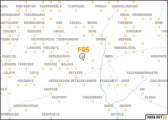 map of Fas