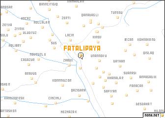 map of Fǝtǝlipǝyǝ