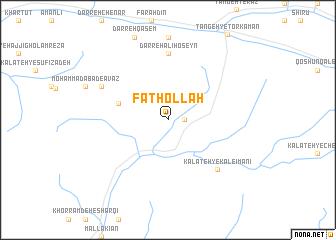 map of Fatḩollāh
