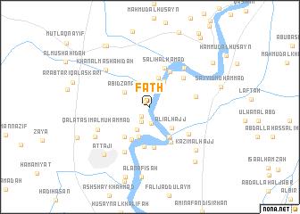 map of Fatḩ