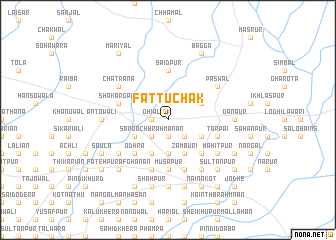 map of Fattu Chak