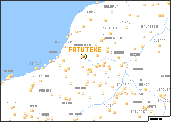 map of Fatuteke