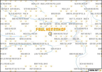 map of Faulherrnhof