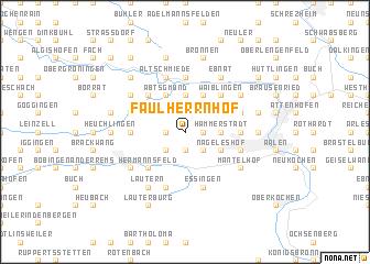 map of Faulherrnhof