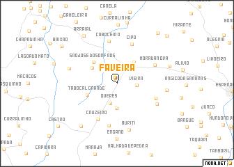 map of Faveira