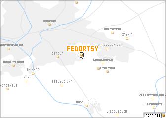 map of Fedortsy