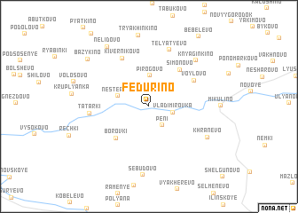 map of Fedurino
