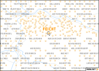 map of Feicht