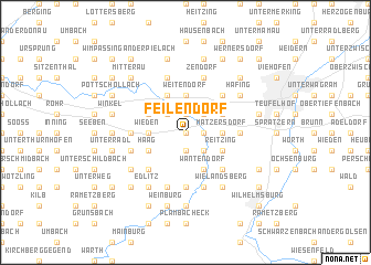 map of Feilendorf