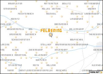 map of Felbering