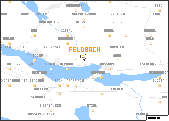 map of Feldbach