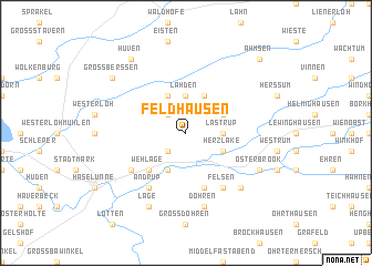 map of Feldhausen