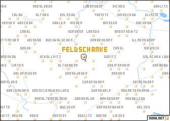map of Feldschänke