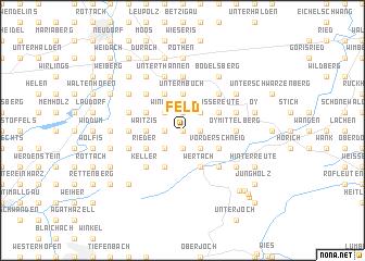 map of Feld