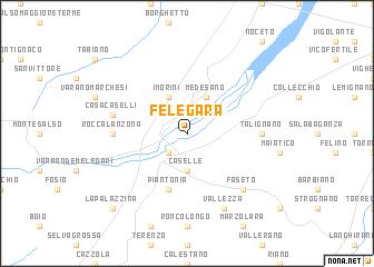 map of Felegara