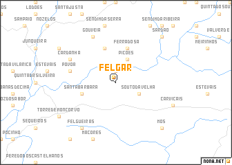 map of Felgar