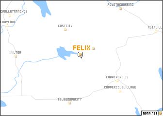 map of Felix