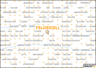 map of Felizenzell