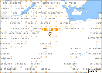 map of Fellerer
