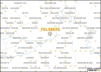 map of Felsberg
