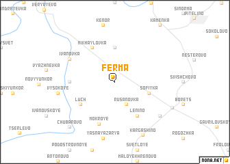 map of Ferma