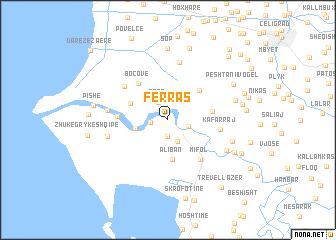 map of Ferras