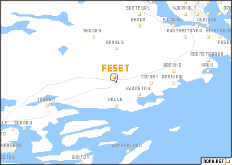 map of Feset