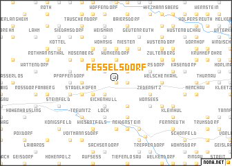 map of Fesselsdorf
