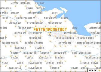 map of Fetten-Vorstadt