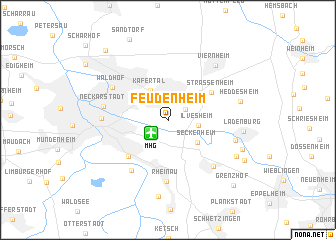 map of Feudenheim