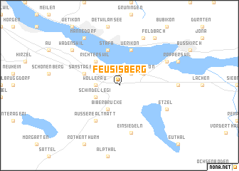 map of Feusisberg