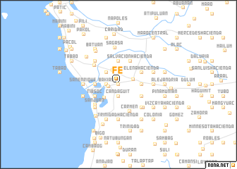 map of Fé