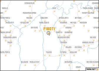 map of Fibot I