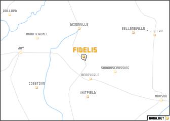 map of Fidelis