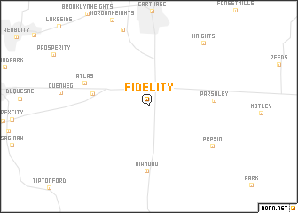 map of Fidelity