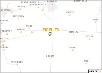 map of Fidelity