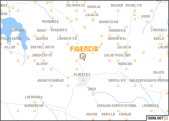 map of Fidencia