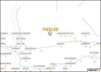 map of Fiegler