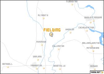 map of Fielding
