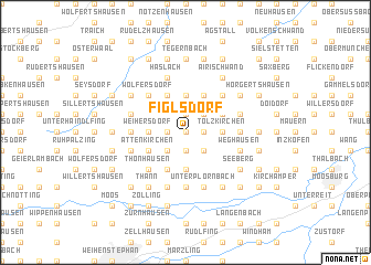 map of Figlsdorf